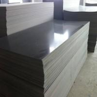 PVCU板,抗化性佳聚氯乙烯板,深灰色PVCU板加工