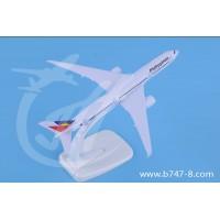 飞机模型空客A350菲律宾航空金属手工创意礼品玩具航模摆件