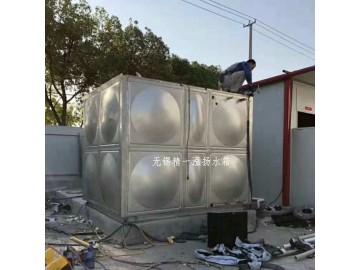 无锡精一泓扬公司免费设计 现场安装不锈钢消防水箱
