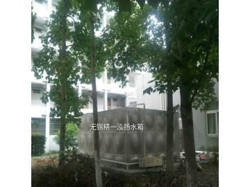 无锡精一泓扬厂家直销50吨规格的304不锈钢保温水箱