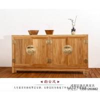 成都禅意新中式家具 成都榆木家具