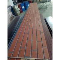 标砖纹 保温装饰板 金属面保温装饰板 金属面外墙装饰板