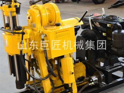巨匠集团HZ-130Y液压100米勘探钻机百米钻机