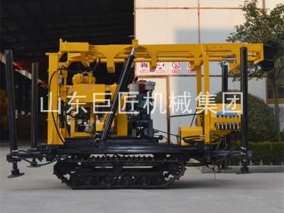 巨匠集团XYD-130液压履带钻机取样勘探钻机行走自如省时省力