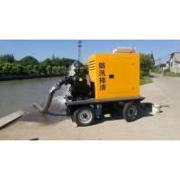 防汛排污移动泵车每小时300方