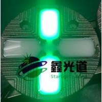 斑马线发光道钉 智能斑马线LED铸铁道钉