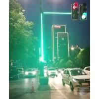 发光信号灯杆 同步红绿灯发光灯带