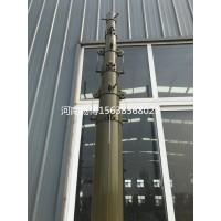 8米便携式电动升降杆避雷针军区手动照明升降杆5米升降伸缩杆