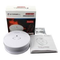 烟雾报警器家用厨房无线防火报警器火灾探测器消防材器3C认证