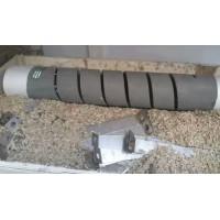 定硫仪异径管/透明石英管/ 石英异径管