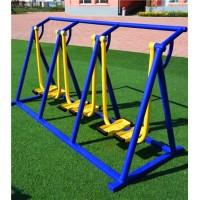 三人漫步机小区体育健身路径批发厂家